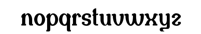 Naula Font LOWERCASE