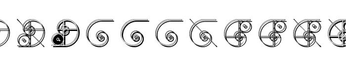 NautilusTwo Font UPPERCASE