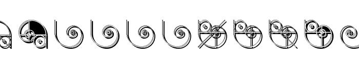 NautilusTwo Font LOWERCASE