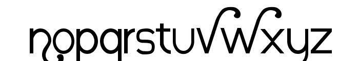 Nauvoo Font LOWERCASE
