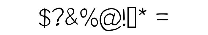 Nawabiat Regular Font OTHER CHARS