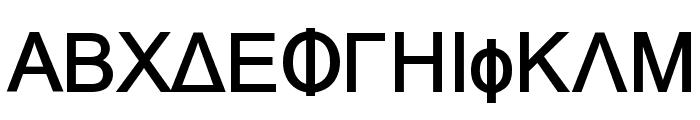 Naxos-Bold Font UPPERCASE