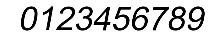 Naxos-Italic Font OTHER CHARS