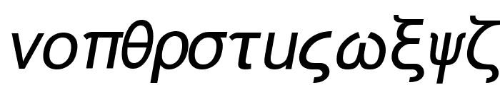 Naxos-Italic Font LOWERCASE