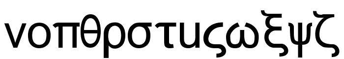 Naxos-Normal Font LOWERCASE