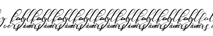Nazeefa Script Font OTHER CHARS