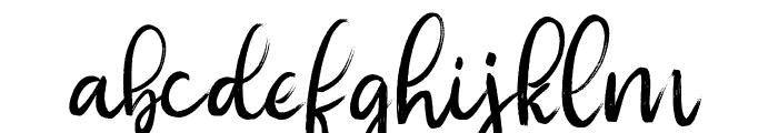 nahye Regular Font LOWERCASE