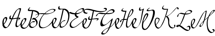 najwa Font UPPERCASE