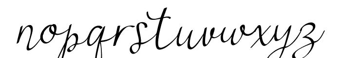 najwa Font LOWERCASE