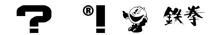 namco regular Font OTHER CHARS