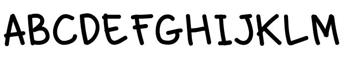 naras Font LOWERCASE