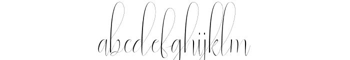 natasya Font LOWERCASE