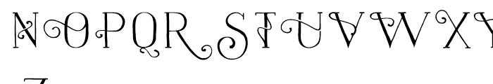 Naive Naive Fantaisies Medium Font UPPERCASE