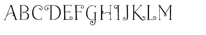 Naive Naive Fantaisies Medium Font LOWERCASE