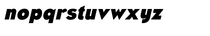 Naked Power Black Italic Font LOWERCASE