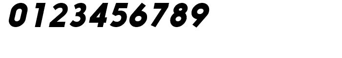 Nanami Black Oblique Font OTHER CHARS
