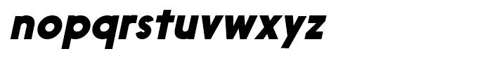 Nanami Black Oblique Font LOWERCASE