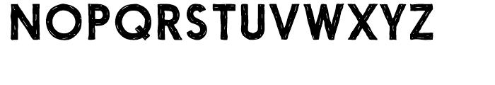 Nanami Handmade Medium Font UPPERCASE