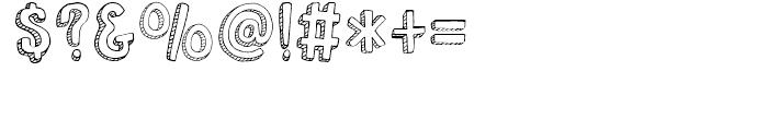 Nanuk Regular Font OTHER CHARS
