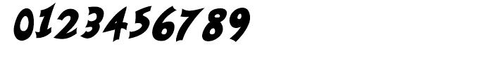 Nanumunga Bold Oblique Font OTHER CHARS