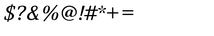 Narevik Italic Font OTHER CHARS