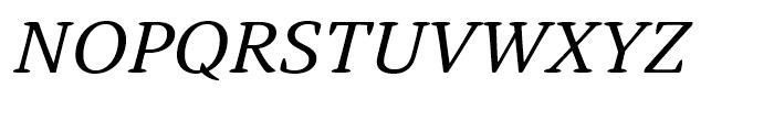 Narevik Italic Font UPPERCASE