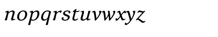 Narevik Italic Font LOWERCASE