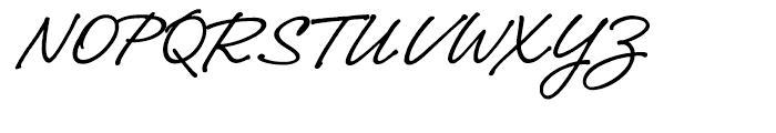 Narrative BF Regular Font UPPERCASE