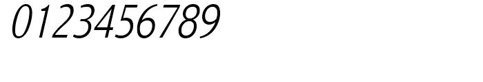 Nat Grotesk Narrow Light Italic Font OTHER CHARS