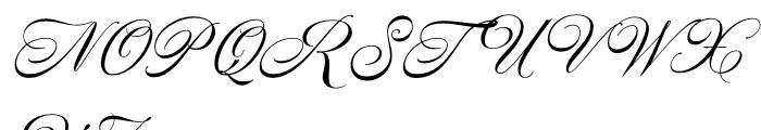 Nautica Medium Font UPPERCASE