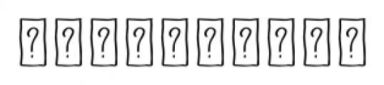 Naive Fantaisies Medium Font OTHER CHARS