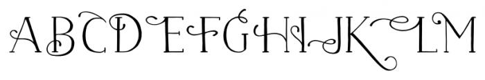 Naive Fantaisies Medium Font UPPERCASE