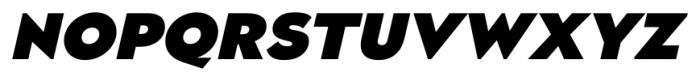 Naked Power Black Italic Font UPPERCASE