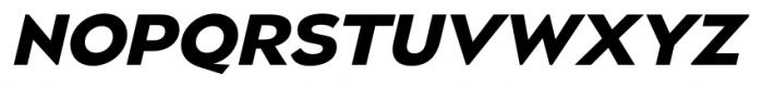 Naked Power Bold Italic Font UPPERCASE