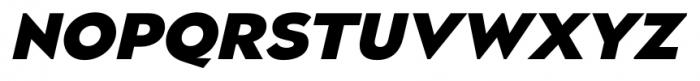 Naked Power Heavy Italic Font UPPERCASE