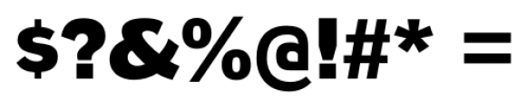 Naked Power Heavy Font OTHER CHARS
