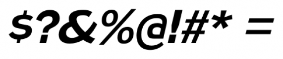 Naked Power Italic Font OTHER CHARS