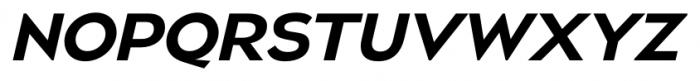 Naked Power Italic Font UPPERCASE
