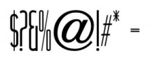Narrow Minded JNL Regular Font OTHER CHARS