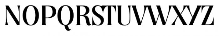 Nashville Serial Regular Font UPPERCASE
