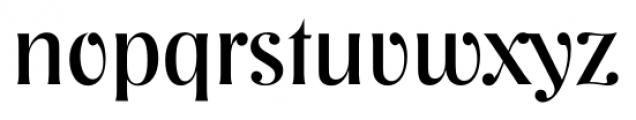 Nashville Serial Regular Font LOWERCASE