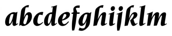 Navarro Bold Italic Font LOWERCASE