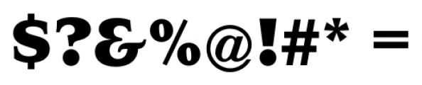 Navarro ExtraBold Font OTHER CHARS
