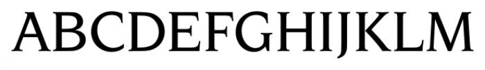 Navarro Medium Italic Font UPPERCASE