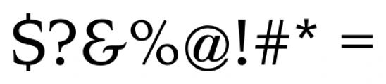 Navarro Medium Font OTHER CHARS