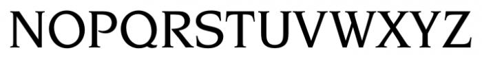 Navarro Medium Font UPPERCASE