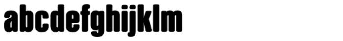 NATRON Bold Font LOWERCASE