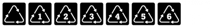 NATRON Pictograms Font OTHER CHARS