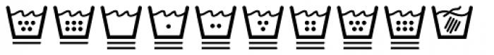 NATRON Pictograms Font LOWERCASE
