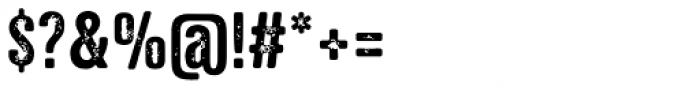 NATRON Rough Medium Font OTHER CHARS